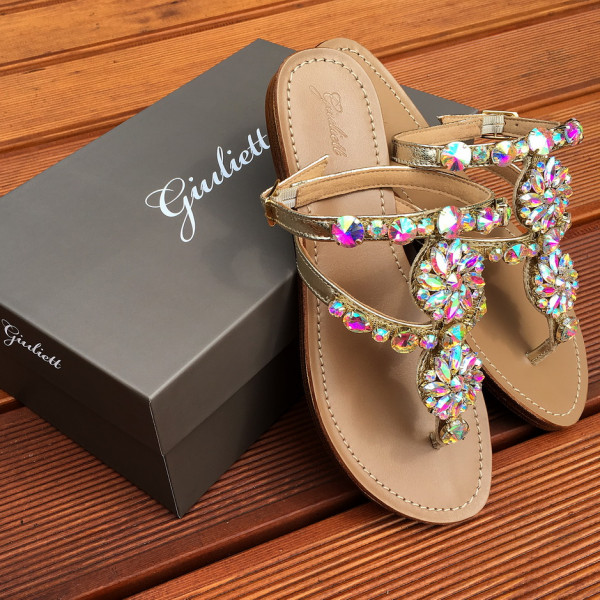 Milano Crystals Sandals-111472-20