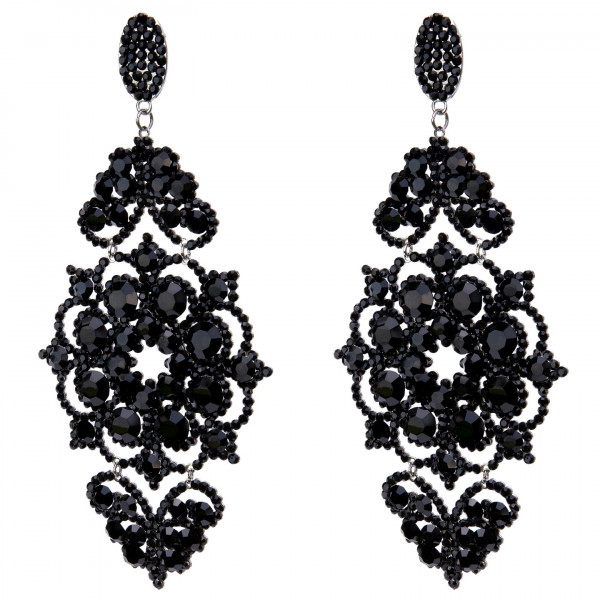 Giuliett Bella Czech Crystal Black-135459-20