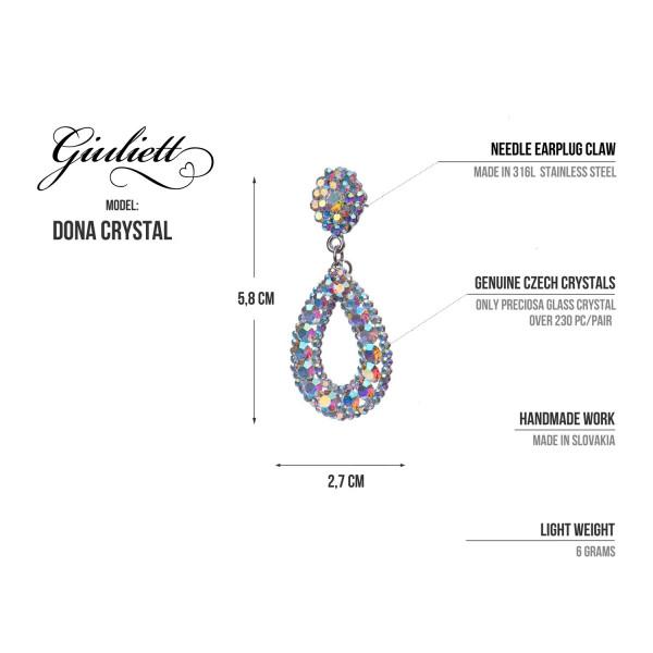 Giuliett Dona Czech Crystal Blue-135433-20