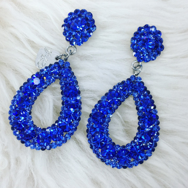 Giuliett Dona Czech Crystal Blue-135433-31