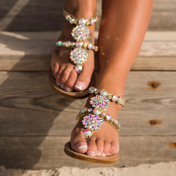 Milano Crystals Sandals-111472-31