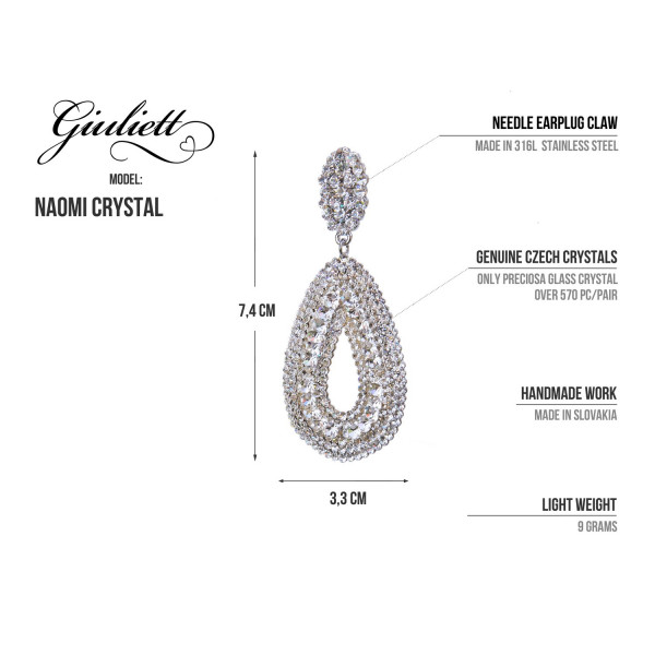 Giuliett Naomi Czech Crystal AB-135430-20
