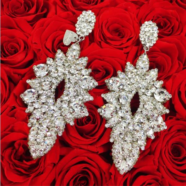 Giuliett Elena Czech Crystal Silver-135451-20